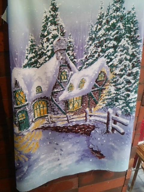 クリスマス  クッションカバー